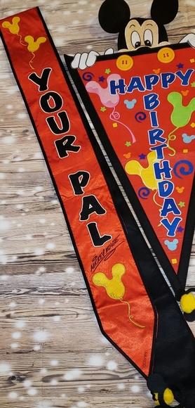 Disney Party Supplies World Lic Surprisebirthday 2pc Banner Set Poshmark